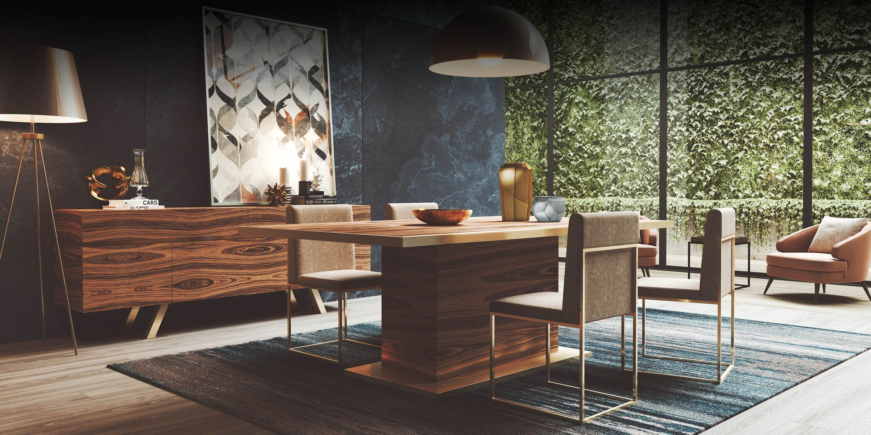 Laskasas decorate life www laskasas com dining room decor this dining room is an example of how to seamlessly combine natural wood tones