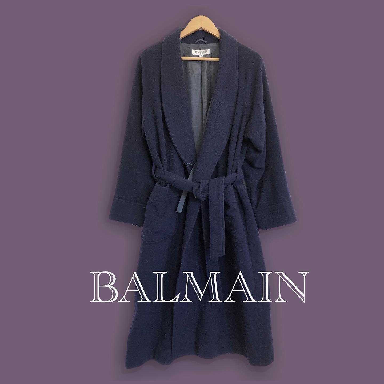 やっぱりローブは2枚目の着方がしっくりくる Balmain Robe Longcoat Powerpuffgirls バルマン ローブ ロングコート パワーパフガールズ ユートニウム博士 メンズファッション Mensfashion Vintageclothing Oldclothes 古
