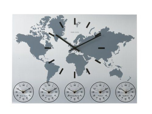 Product Code B001T9NI0U Rating 45 5 stars List Price $ 9099 - best of world map poster time zones