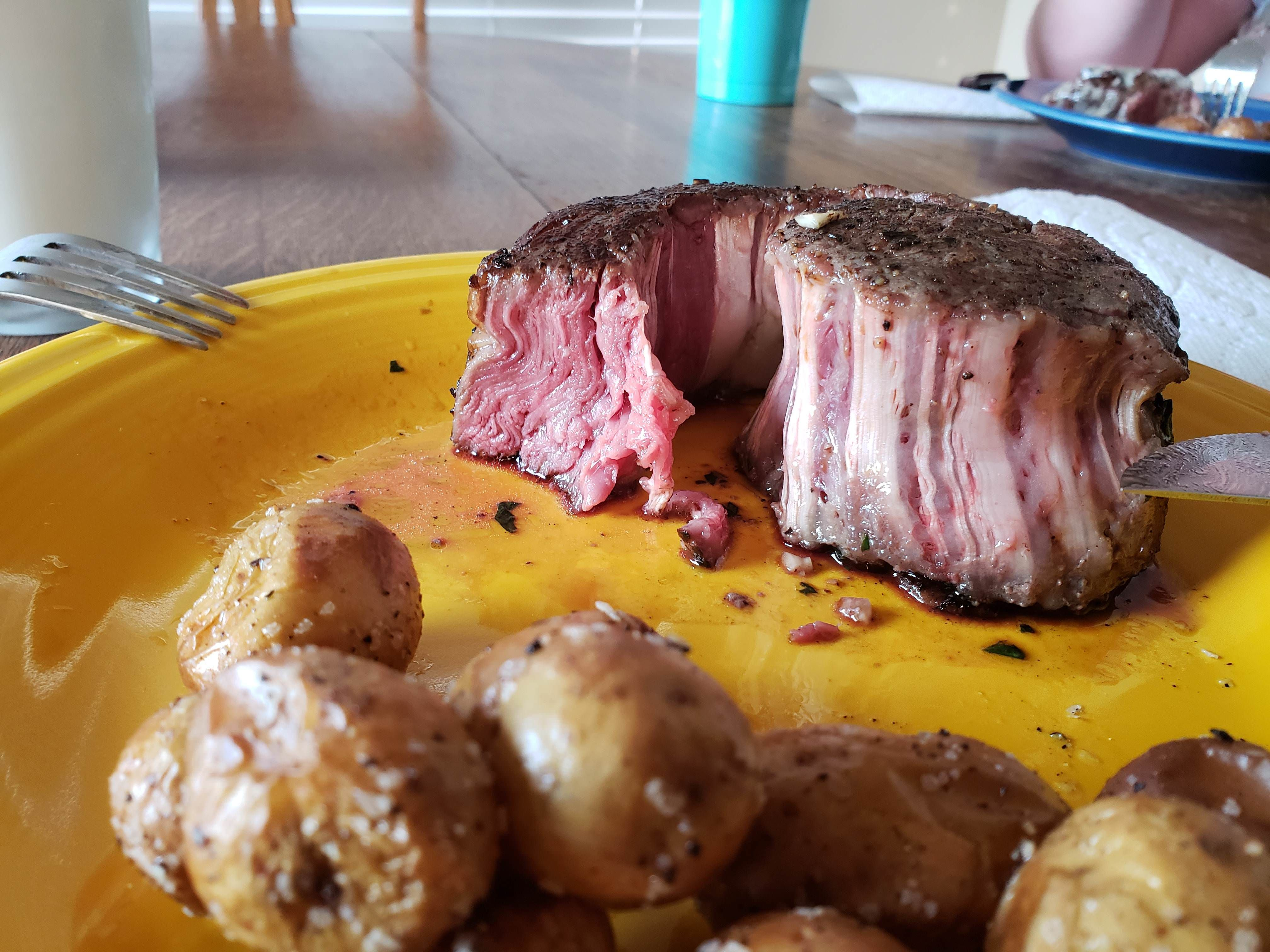 costco ribeye caps after a 3 hour sous vide and sear https ift tt