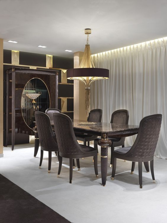 17 Divine Dream Dining Room Designs That Will Leave You Speechless Italian Dining Room Luxury Dining Dining Furniture Makeover