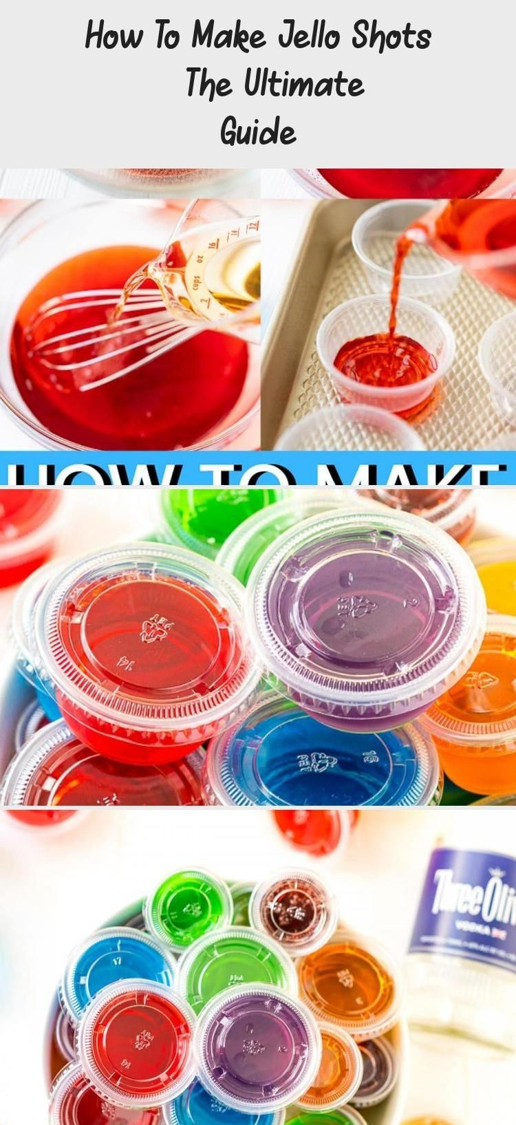 How to make jello shots the ultimate guide