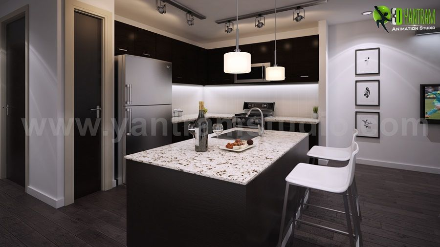 El estudio de diseño arquitectónico de Yantram proporciona ...