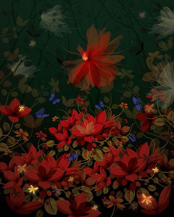 Fairy's Garden on Behance