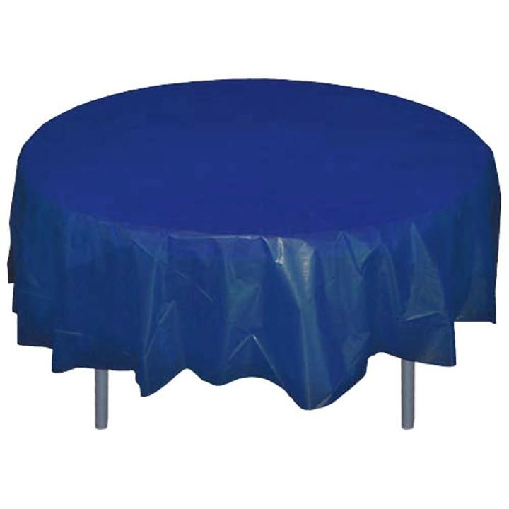 Round Table Covers Round Table Covers Plastic Table Covers Blue Table