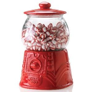 A classed up candy dish aka a gumball jar
