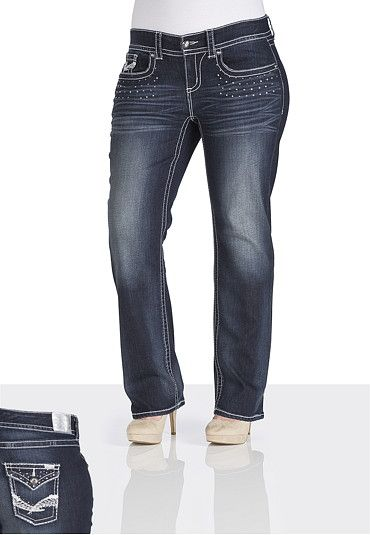 Maurices Premium Sequin Jeans available at #Maurices