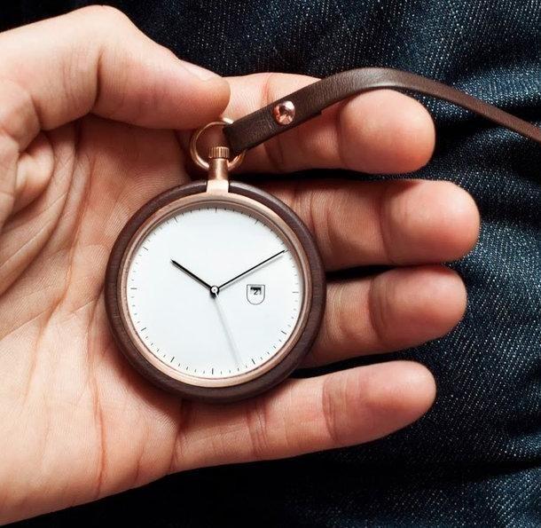MMT Calendar Pocket Watch