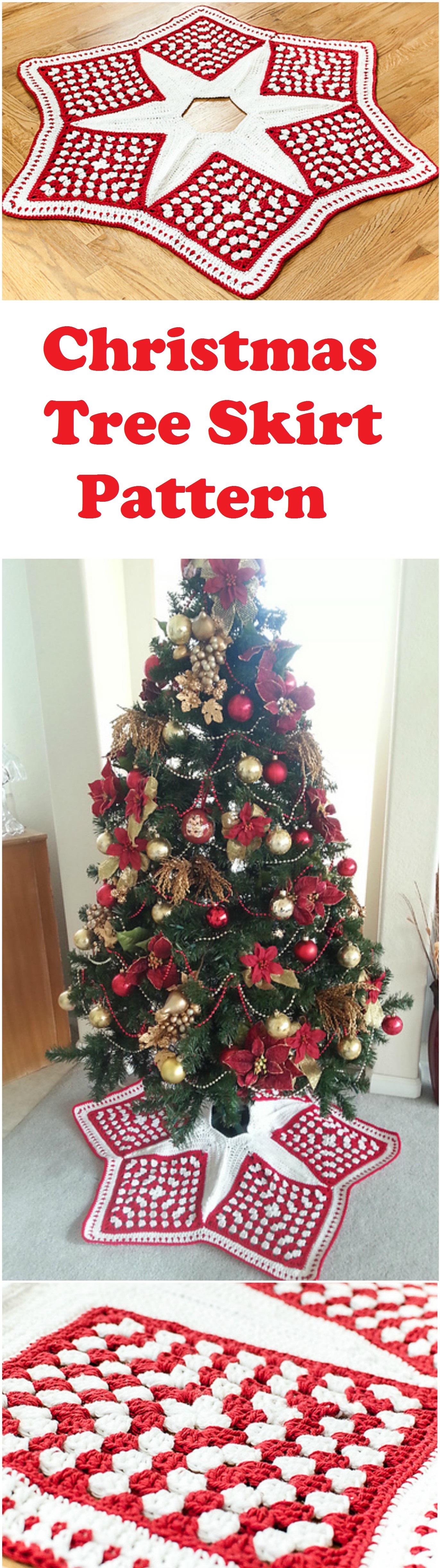Crochet Christmas Tree Skirt | Crochet projects | Pinterest | Cosas ...