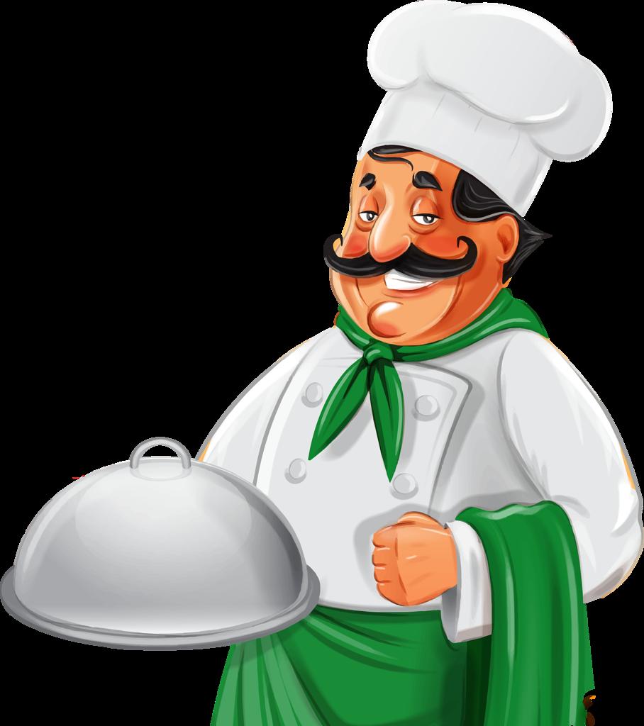 Картинки поваров для меню