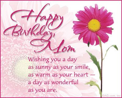Birthday Wishes for Mother – Happy Birthday Mom Cards