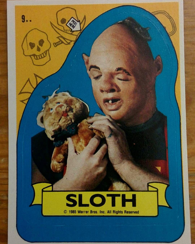 The Goonies | Goonies, Sloth goonies, Goonies movie