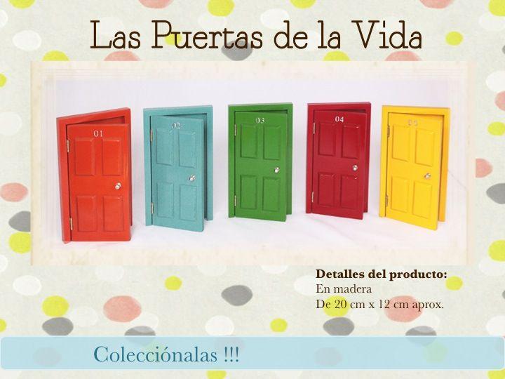 Puertas de la vida. www.amimanera.co @Amimanera Regalos y Experiencias
