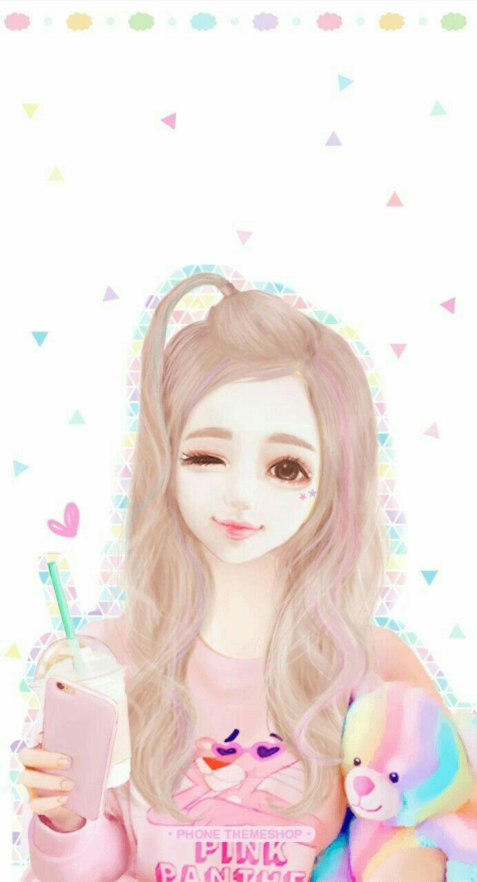 Realistic Drawings Cool Drawings Kawaii Girl Kawaii Anime Illustration Girl Chicas