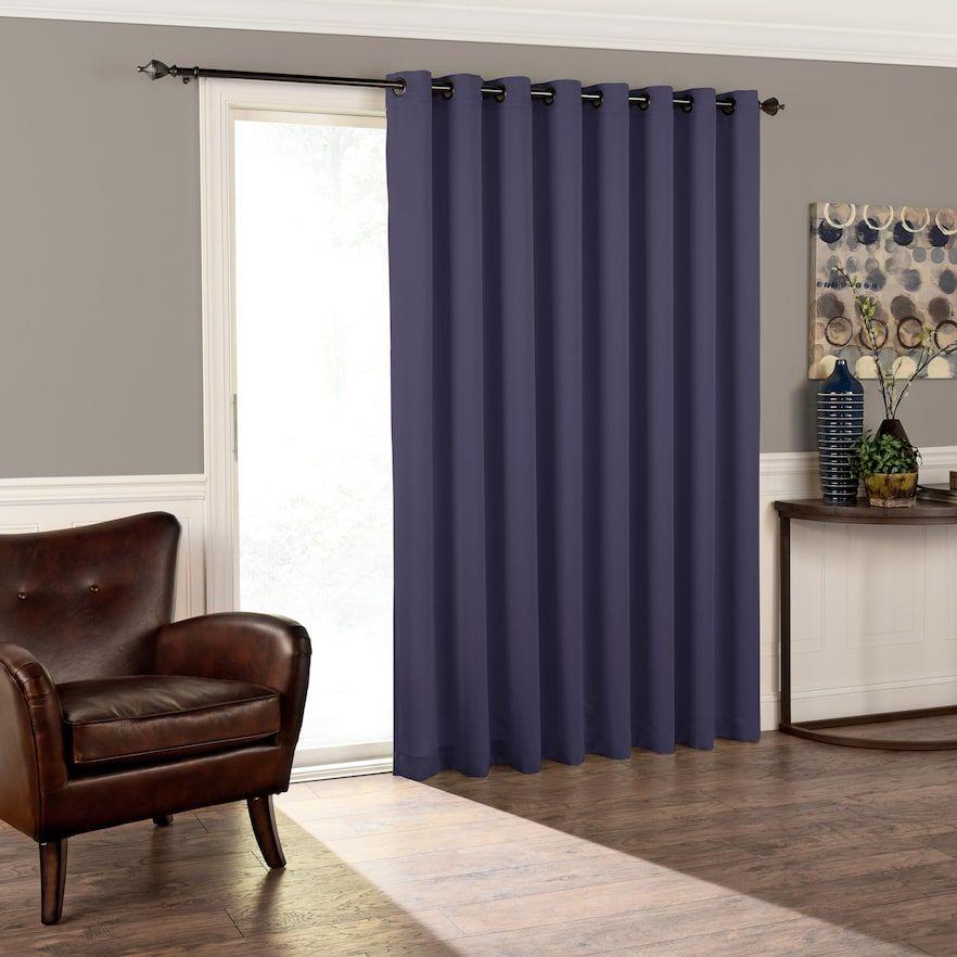 Eclipse Tricia Room Darkening Patio Door Curtain Patio Doors Door Panel Curtains Panel Curtains