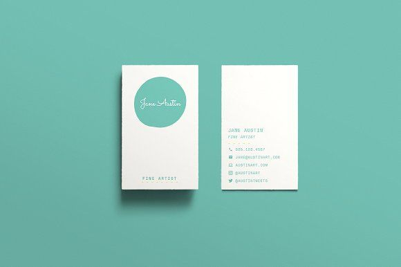 Austin Business Card Template ++ by TB Photography + Design on @creativemarket