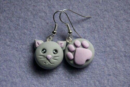 #porcelana #gato #huella