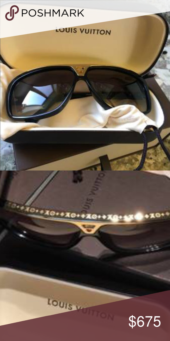 d834a590db 💥Authentic Louis Vuitton Evidence Sunglasses Authentic Louis Vuitton  Evidence Sunglasses Comes with Posh Concierge Service! Holiday Gift.