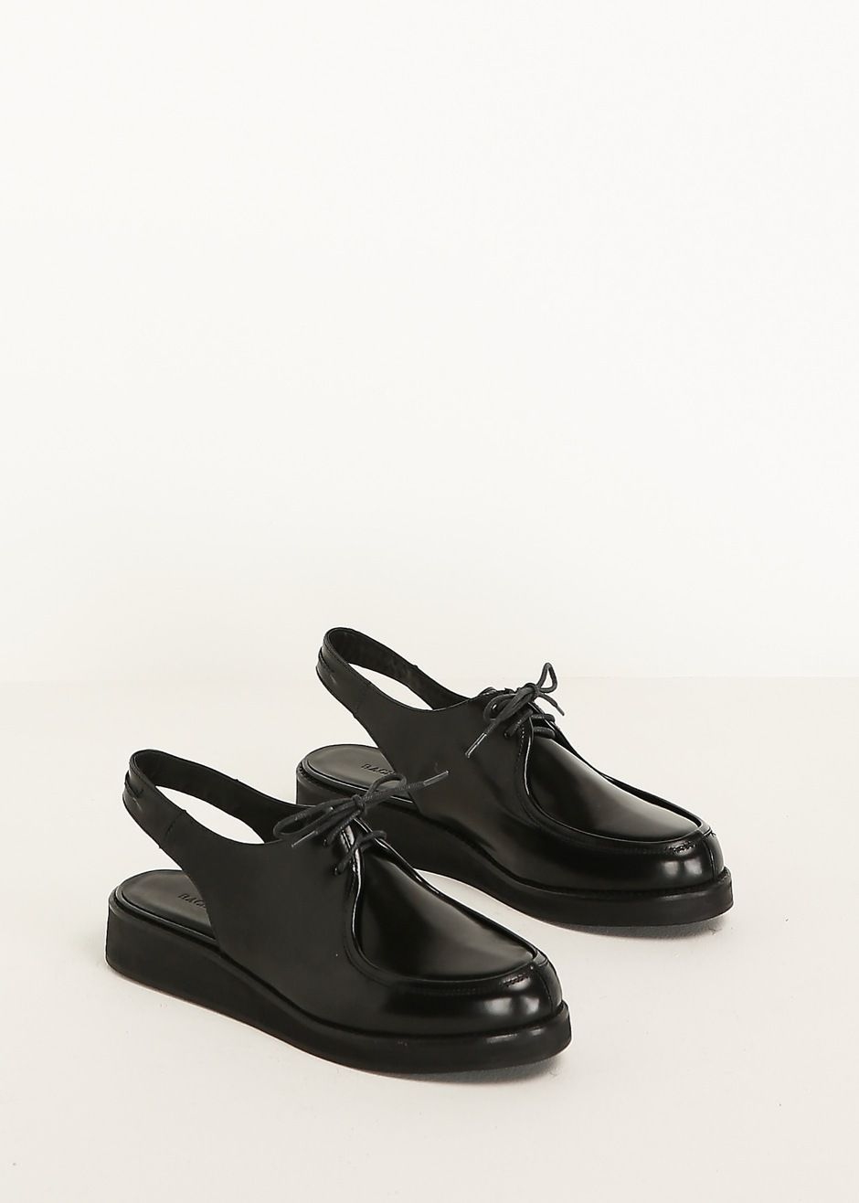 Patent Comey wedge black by leather slingback in Rachel oxford rxqU4wrTg