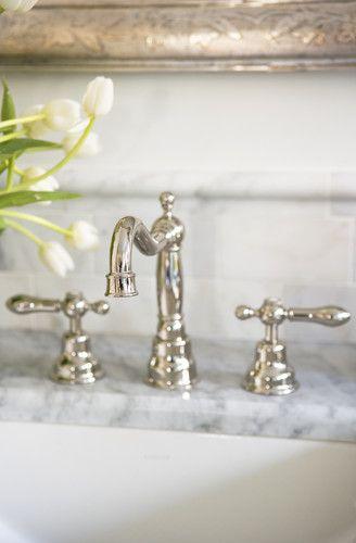 Lake Keowee Smith Private Residence Powder Room Faucets Bathroom Faucets Bathroom Sink Faucets
