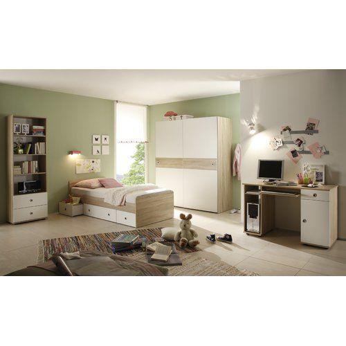4-tlg Schlafzimmer-Set Nick 90 x 200 cm Jetzt bestellen unter - günstige komplett schlafzimmer