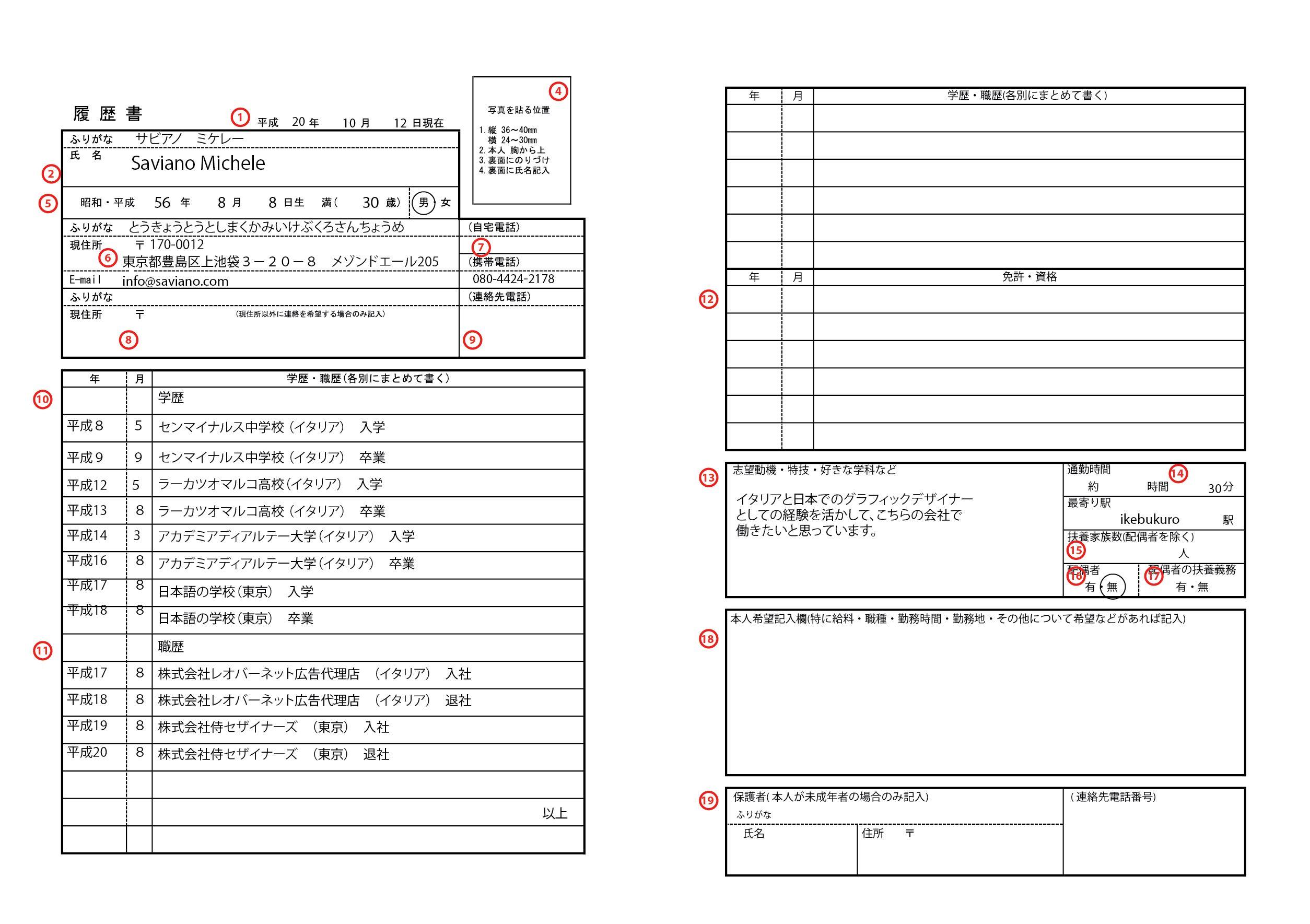 Cv Template Japan Resume Format Cv Template Resume Templates Resume Template