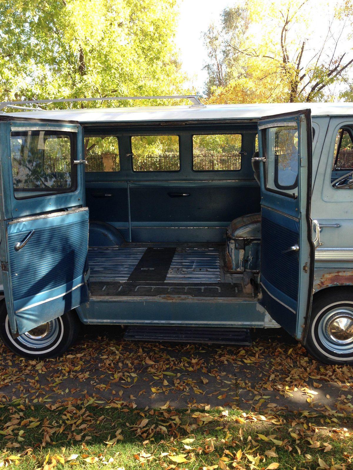 1964 Falcon Club Wagon Econoline 15 Passenger Van American