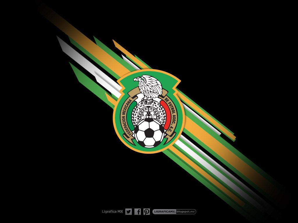 MEXICO FUTBOL ESCUDO SELECCION NACIONAL SET OF 2