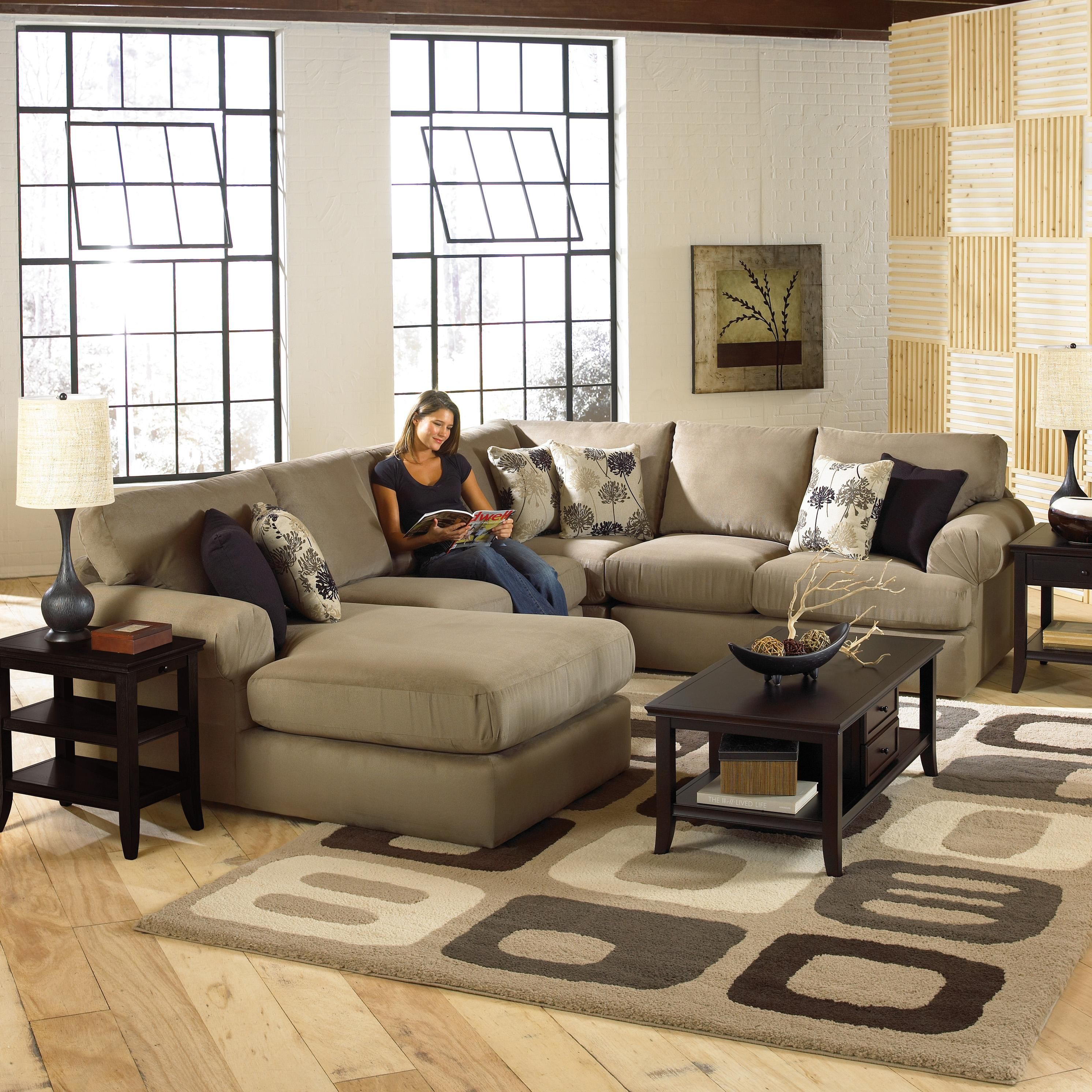 Best Bree Four Piece Sectional Sofa By Best Home Furnishings 400 x 300