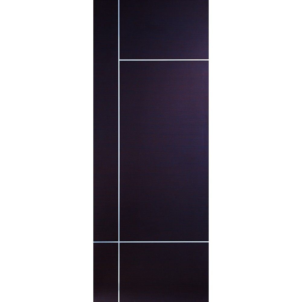 Fire Door Strips >> A Prefinished Internal Wenge Fire Door Featuring Aluminium