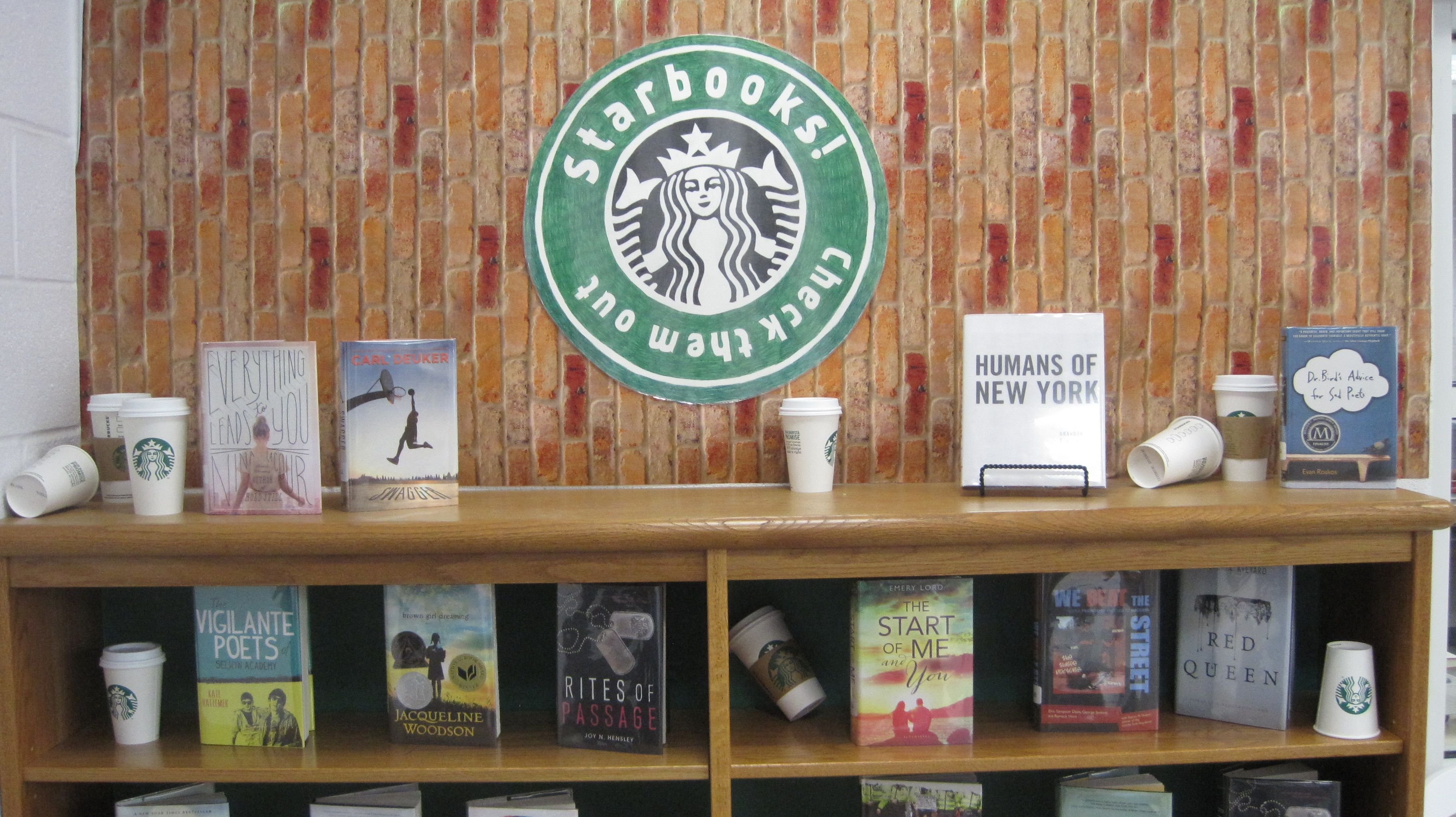 """Our """"starbooks"""" display"""