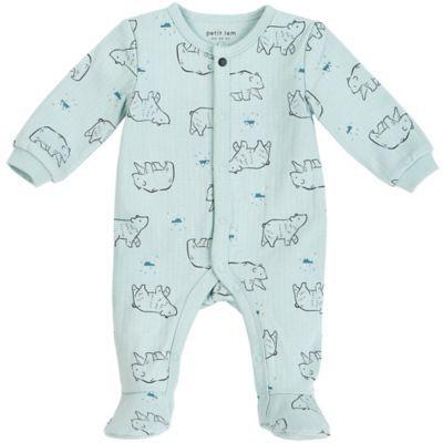 Petit Lem Baby Sleeper Softand Cute Onesie Pajamas Organic Cotton
