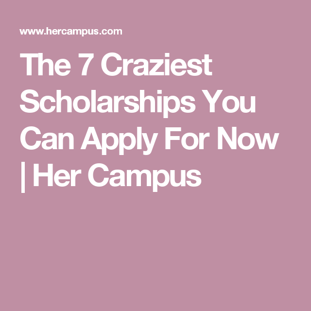 college campus now offers scholarships