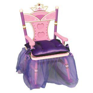 A Throne For Her Royal Highness Princess Chair Kids Rocking Chair Toddler Rocking Chair