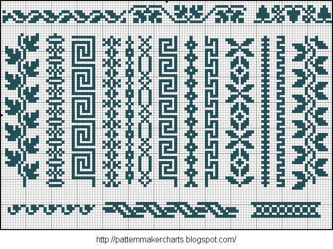 Image Result For Simple Fair Isle Border Crafts Pinterest