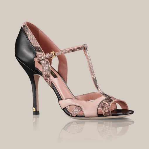 a58e89a3da03 Sail away Sandal Crafted from a refined combination of python and calf  leather