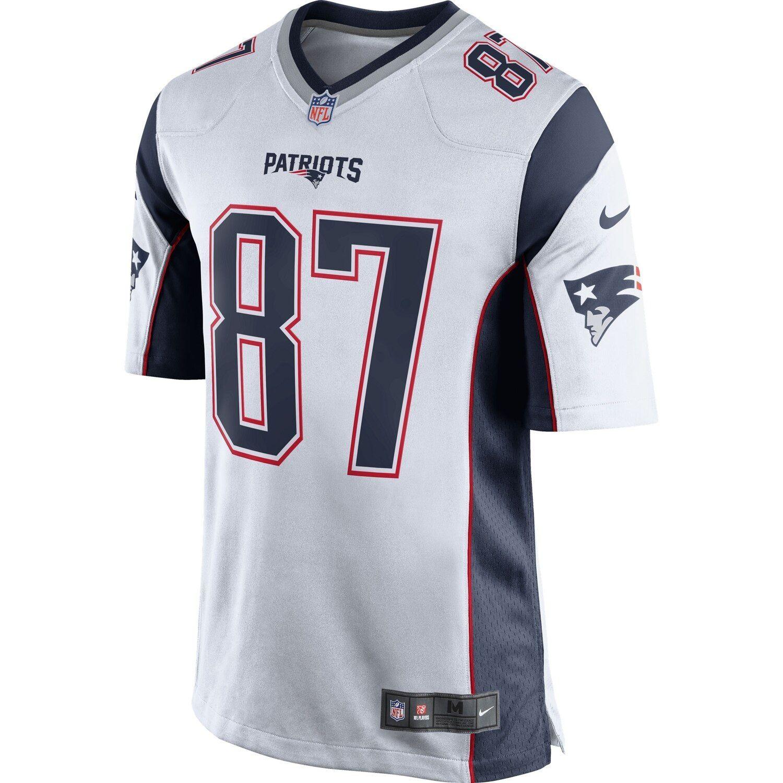 Youth Nike Rob Gronkowski White New England Patriots Game Jersey Jersey Patriots New England Patriots New England Patriots Game
