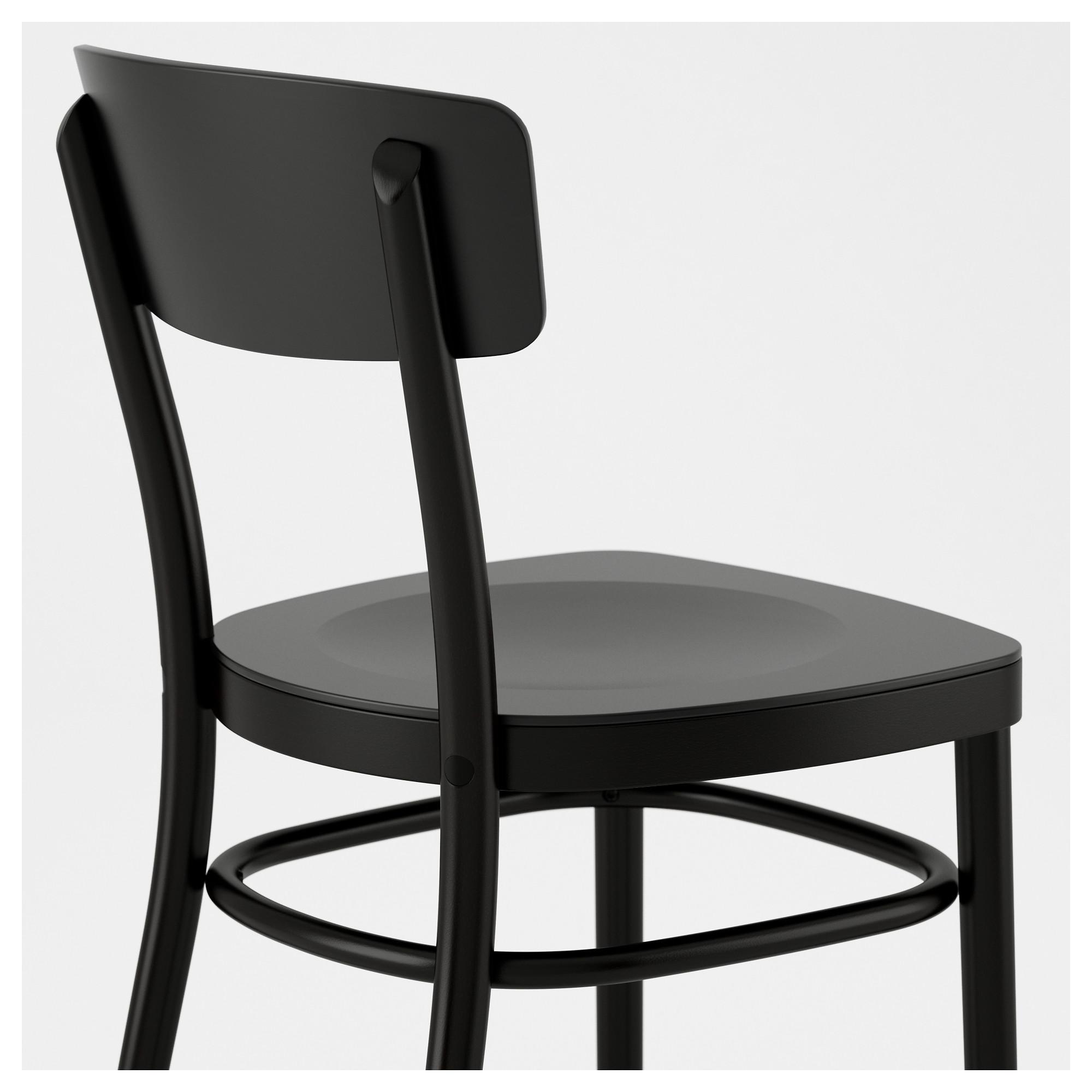 Astounding Idolf Chair Black Chair Ikea Chair Ikea Inzonedesignstudio Interior Chair Design Inzonedesignstudiocom