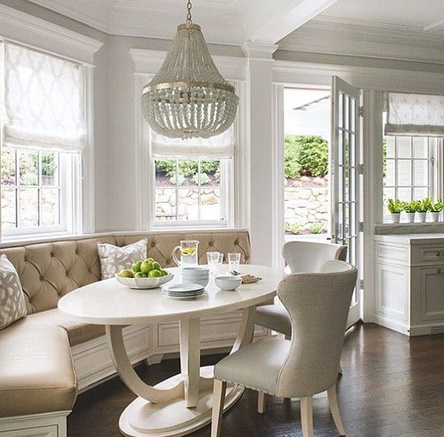 Curved banquette | Banquette Ideas | Pinterest | Ovaler tisch ...