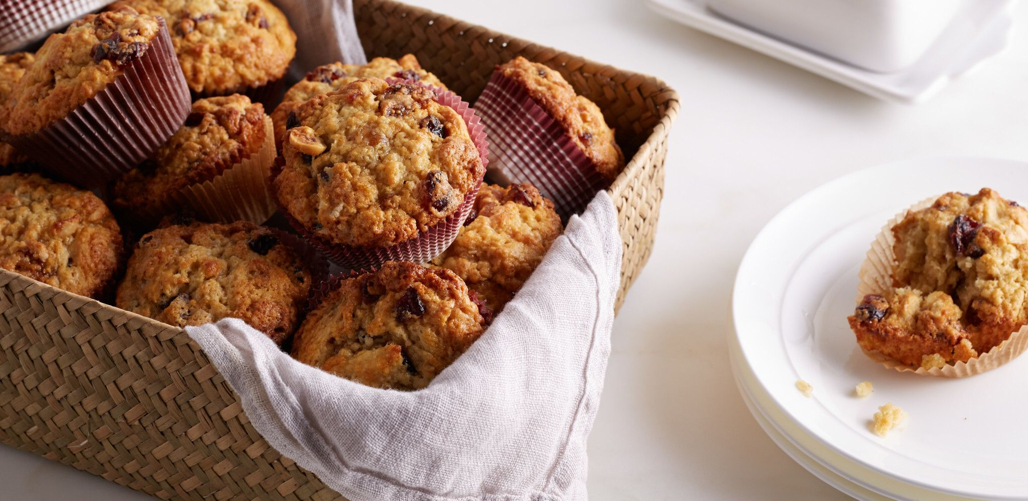 cranberry harvest muffins  recipe in 2020  food network