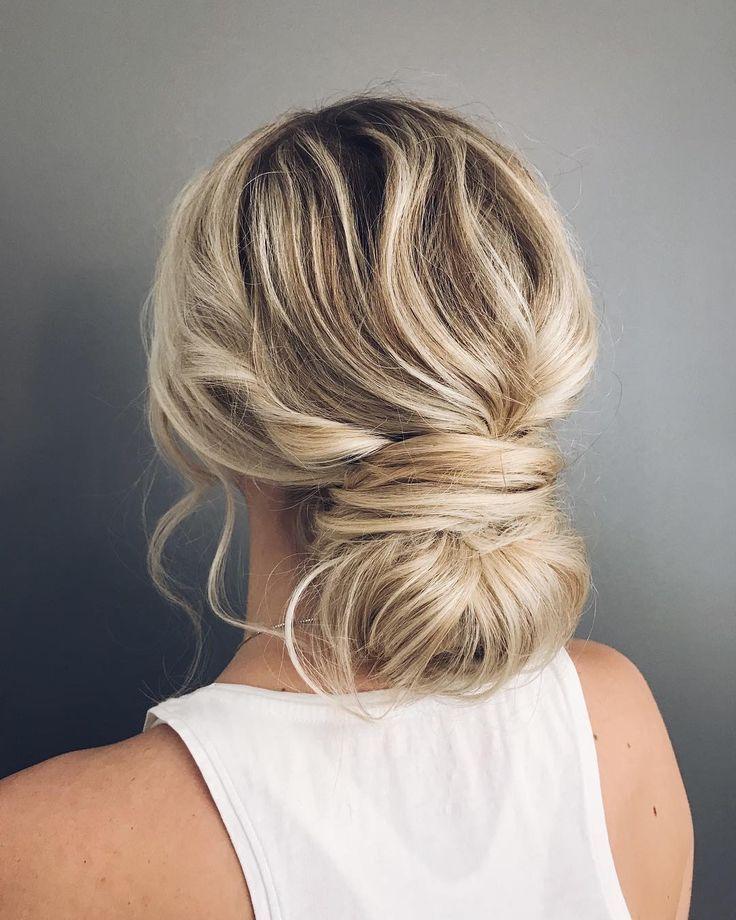 Wedding Updo Hairstyle Updo Wedding Hairstyles Chignon Messy