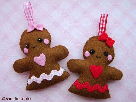 Gingerbread Girls