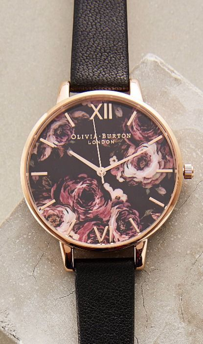Painterly Rose Watch