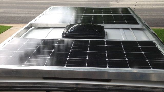 Renogy 300 Watt 24 Volt Monocrystalline Solar Panel For Residential Commercial Rooftop Back Up System Off Grid Application Rng 300d The Home Depot Monocrystalline Solar Panels Solar Panels Best Solar Panels