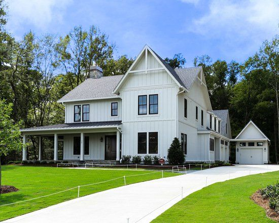 16 Bright And Airy Modern Farmhouse Exterior Design Ideas Surrounded By Nature Farmhouse Exterior Modern Farmhouse Exterior Modern Farmhouse