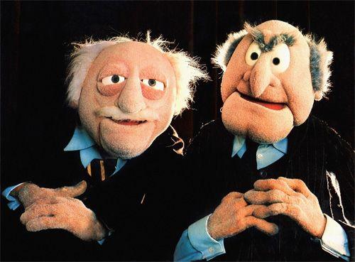 Znalezione obrazy dla zapytania muppets old folks