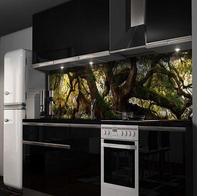 Pin by Glasbildnet on Küchenrückwand Folie Pinterest - glasbilder für badezimmer