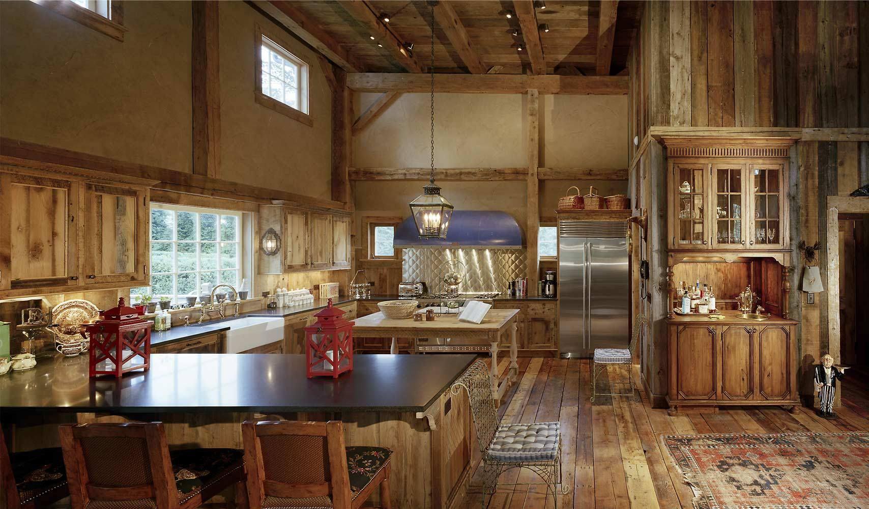 Love This Big Rustic Kitchen...... | KITCHEN | Pinterest