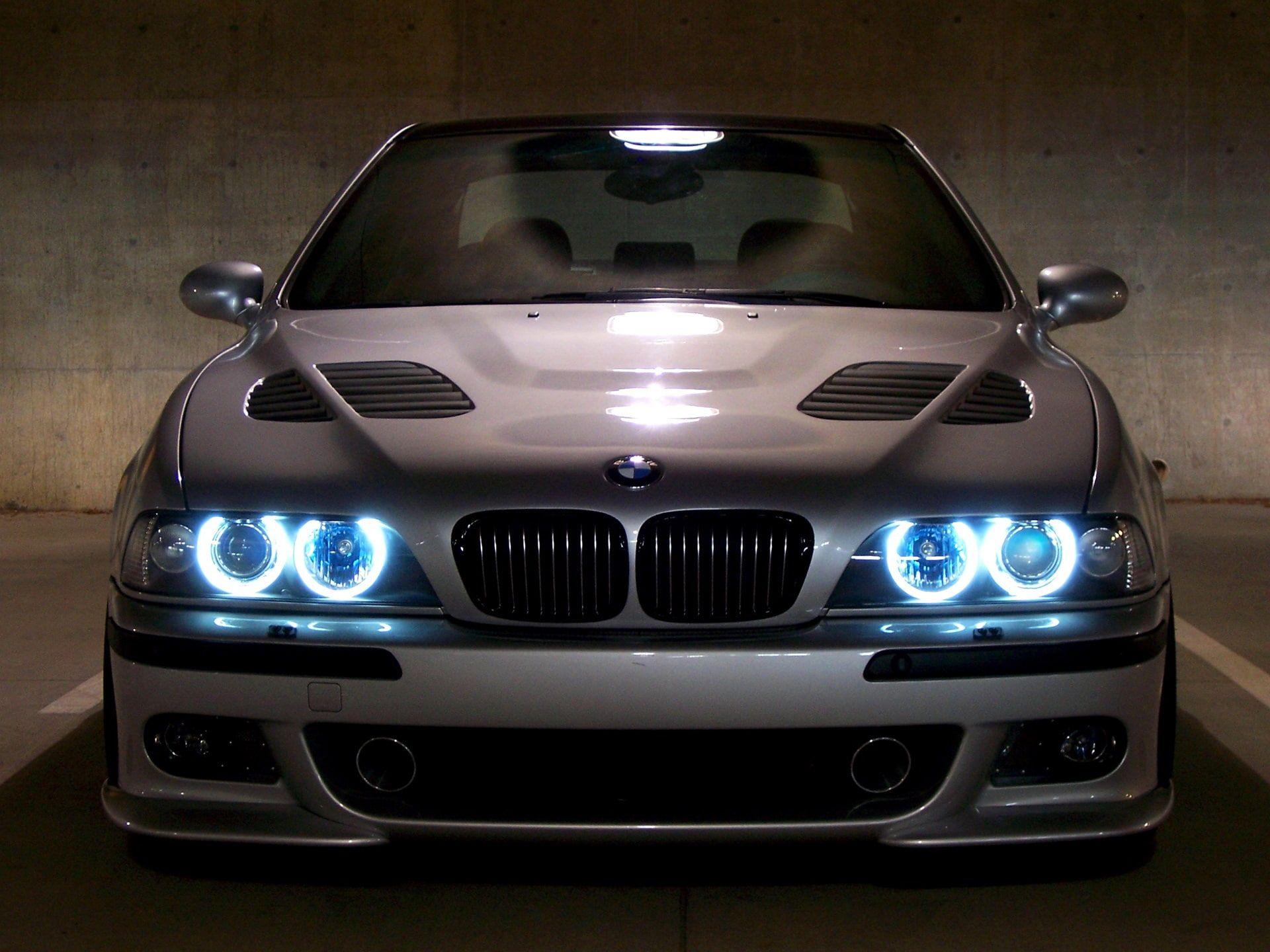 Bmw E39 M5 Blue Angel Eyes Bmw Blue Angel Eyes 1080p
