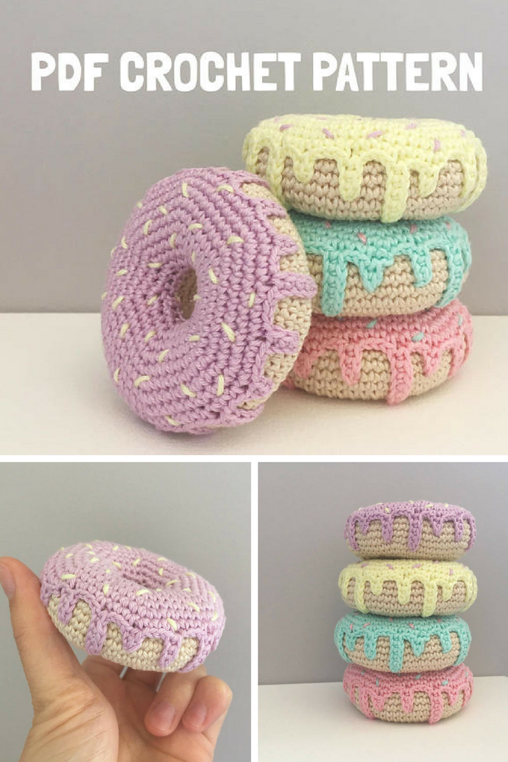 Crochet Donut Pattern Awesome Decorating Design